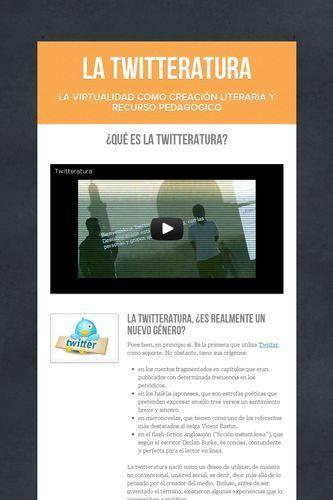 La Twitteratura | Información bibliotecaria | Scoop.it