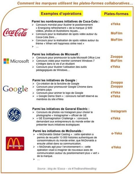 Le crowdsourcing et les plates-formes collaboratives plébiscités par les marques   EcoSystemique   Scoop.it