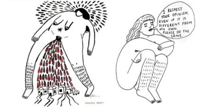 Meet Frances Cannon, the Artist Whose Illustrations Are Showing Women How to Love Themselves | Dare To Be A Feminist | Scoop.it