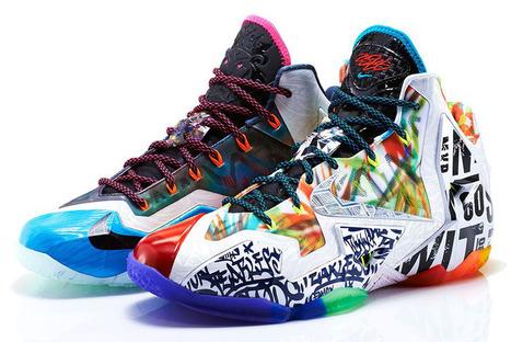 Nike LeBron 11 'What The' New Release Date • EQUNIU   Street Fashion   Scoop.it