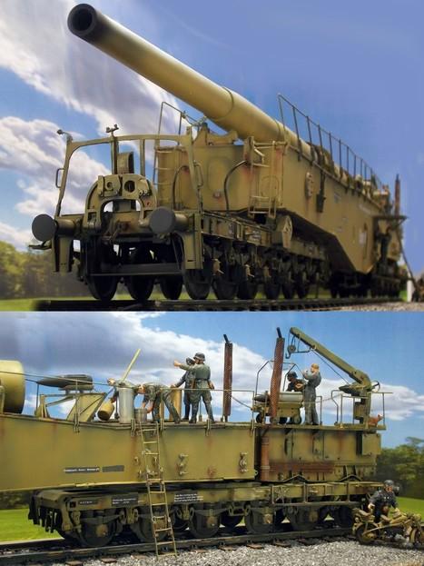 K5 28cm Railgun | Military Miniatures H.Q. | Scoop.it