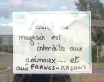 Scandale à Montluçon, un commerçant compare les animaux à des franç-maçons ! #SPA   Toute l'actus   Scoop.it