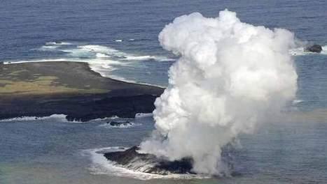 Naissance d'une nouvelle île au large du Japon - 7sur7 | japon | Scoop.it