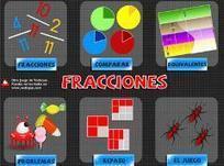 Fracciones, juega y practica (vedoque.com) - Didactalia: material educativo | CENTRO CEIBAL TECNOLOGÍA DE FLORIDA | Scoop.it
