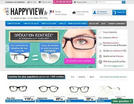 Optique en ligne : M6 s'offre Happyview et Malentille.com - Clubic | le monde des lunettes online | Scoop.it