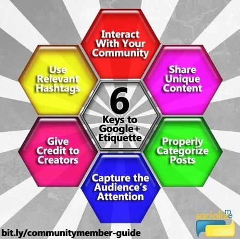 Google+ Community Member Guide | educación y tecnología | Scoop.it