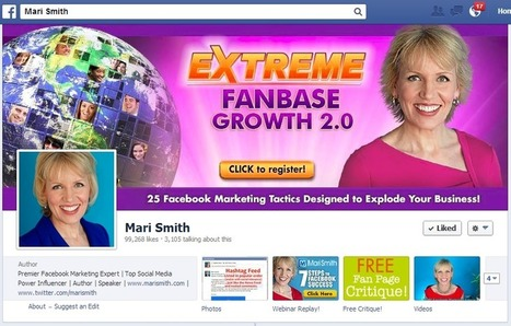 12 Ways To Visually Inspire Fans With Facebook Cover Images | MarketingHits | Scoop.it