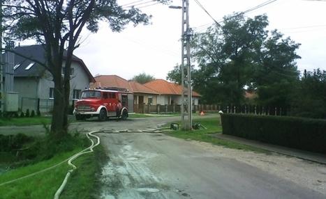 Árkokat is megrongált a sok eső Csornán | Hírek Csornáról | Scoop.it