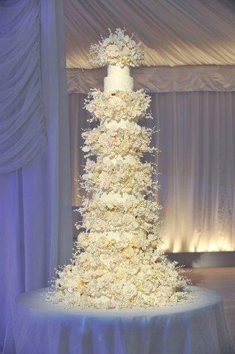 winter  white  round  multi shape   CLASSIC MULTISHAPE WEDDING CAKES   Scoop.it