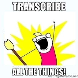 Transcribe ALL The Things! Benefits, Strategies, and More | You Moz | Public Relations & Social Media Insight | Scoop.it