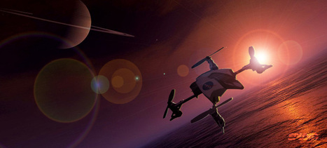 NASA wants to send a quadcopter drone to Titan—along with a mothership - Gizmodo | Autonomous weapon systems | Scoop.it