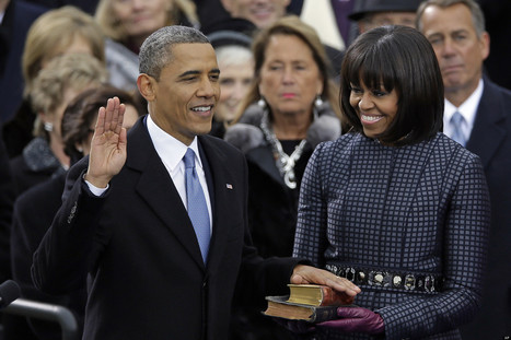 Obama Takes The Oath Of Office For Second Time | my martin luther king project | Scoop.it