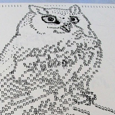 Creatives: Creative Art From Typewriter   ASCII Art   Scoop.it