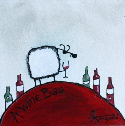 Wine Baa by South African Artist Ann Gadd | Fine Art Portfilio | Latest Greatest Art | Scoop.it