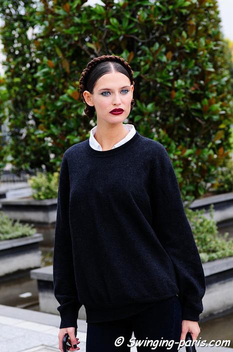 Bianca Balti leaving Emanuel Ungaro Show   Street Style   Scoop.it