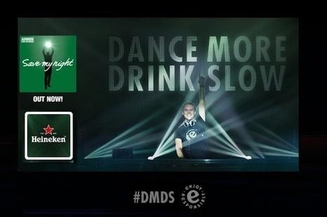 Heineken Debuts 'Dance More, Drink Slow' Alcohol Moderation Campaign With Armin van Buuren | Our Shout | Scoop.it