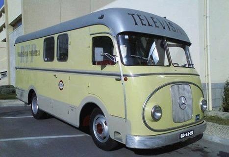 BTS exhibits historic OB van at IBC | Classic Mercedes | Scoop.it