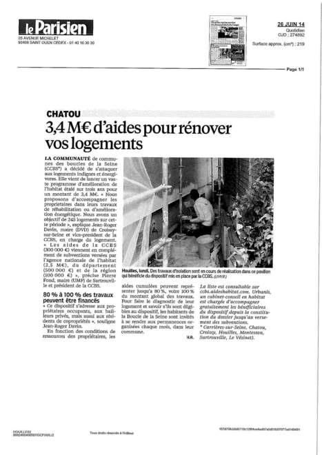 La CCBS s'attaque aux logements indignes pour toutes les villes de la communauté | Croissy sur Seine | Scoop.it
