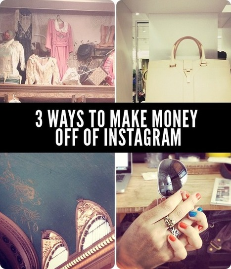 Making money off instagram: how