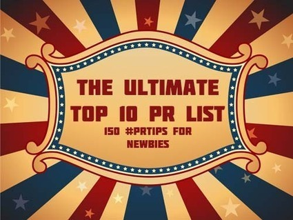 10 Yetis Ultimate List of Top 10 Lists - PR Guide For Public Relations Newbies - 150 Essential Tips | PR Tools of the Trade | Scoop.it