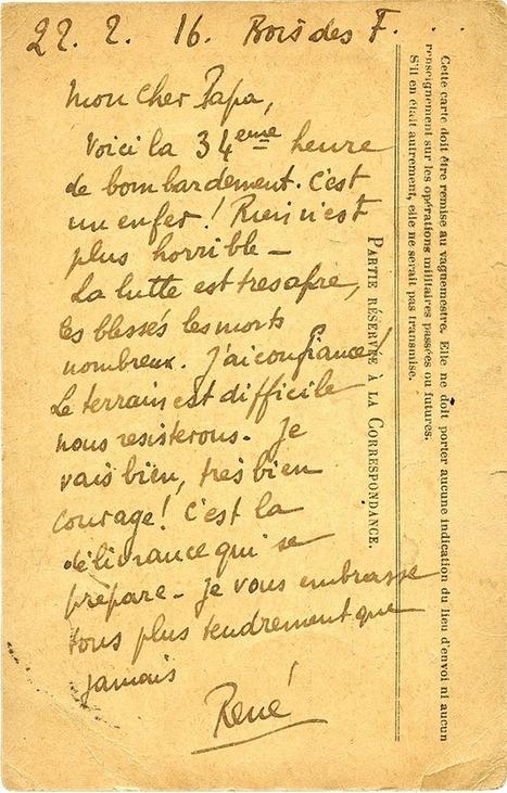 Verdun, il y a cent ans : «C'était une BOUCHERIE inouïe» | Le BONHEUR comme indice d'épanouissement social et économique. | Scoop.it