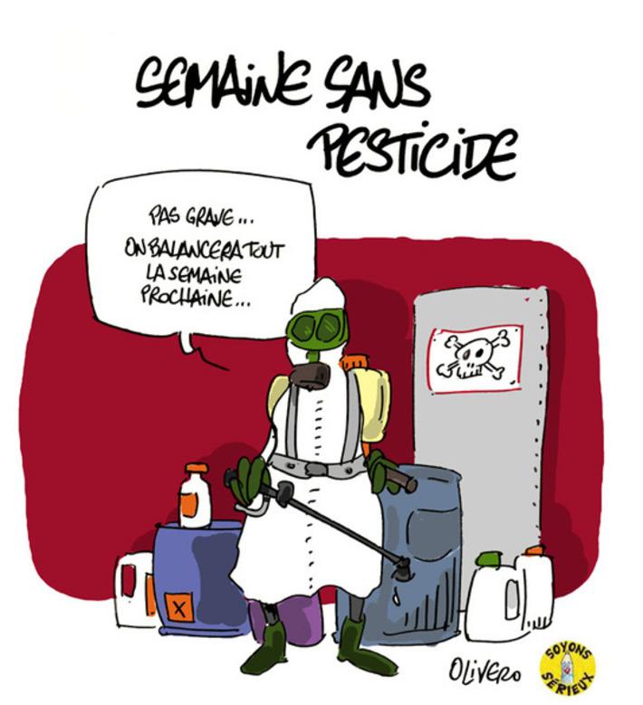Semaine sans pesticide   Baie d'humour   Scoop.it