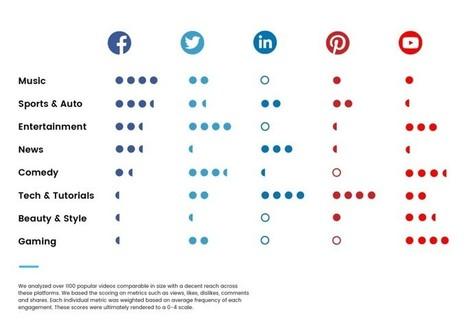 Sur quel réseau social poster une vidéo en fonction de sa thématique ? | Contenus vidéo sur internet : de la puissance à l'exigence | Scoop.it
