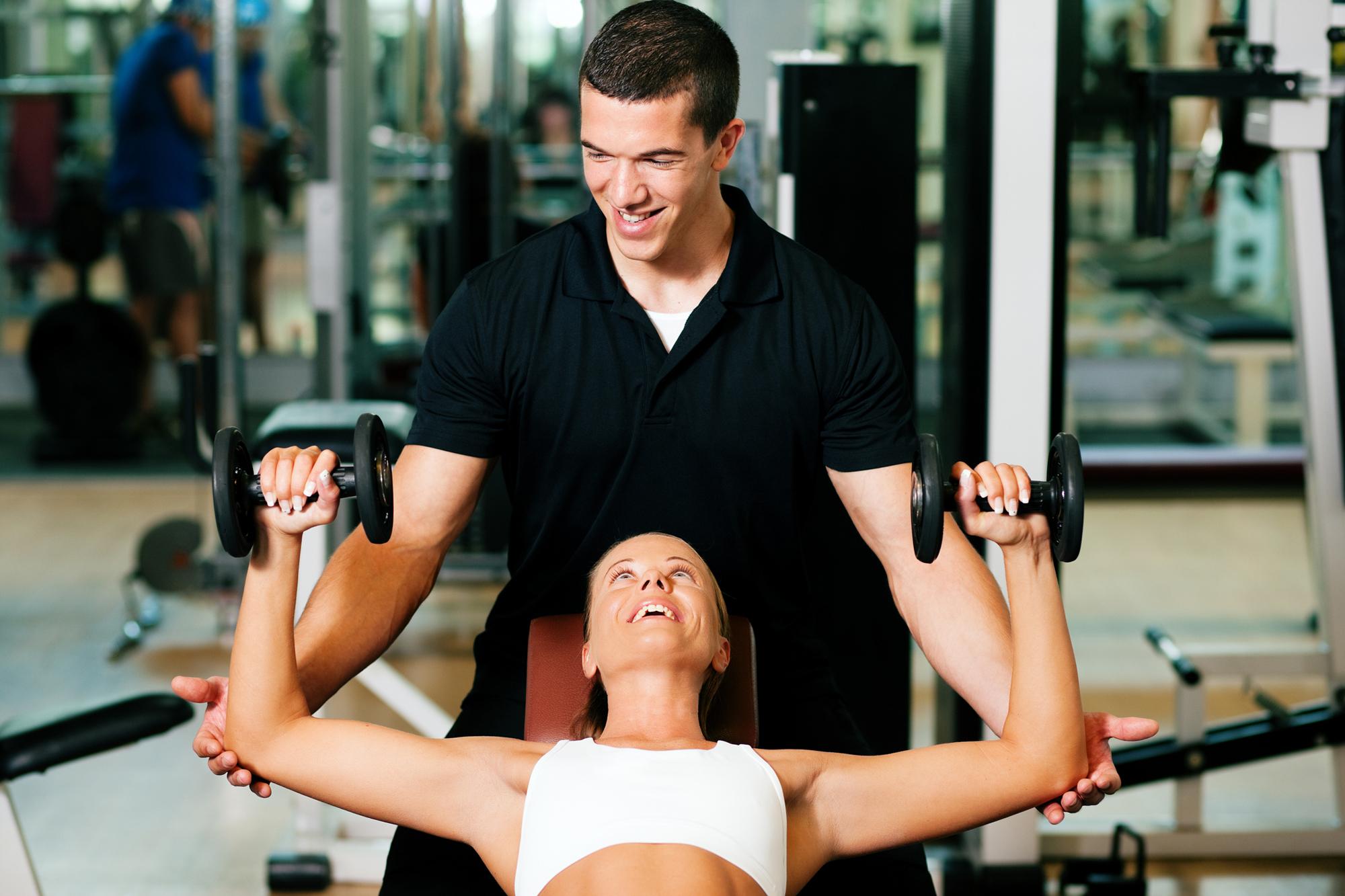 Секс с инструкторами по фитнесу 11 фотография