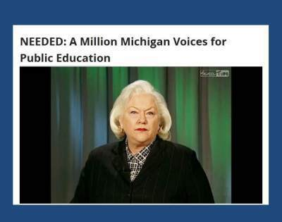 NEEDED: A Million Michigan Voices for PublicEducation | Educational Leadership in Michigan | Scoop.it