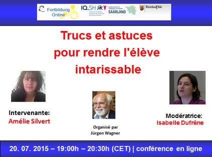 Globinars: Globinaire avec Amélie Silvert: Trucs et astuces pour rendre l'élève intarissable | Frenchbook : news FLE | Scoop.it