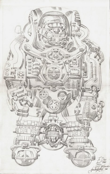 "Geek Time | ungoliantschilde: spaceintruderdetector: Jack... - Linkis.com | Jack ""King"" Kirby | Scoop.it"