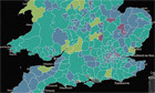 Where are all the babies? The England & Wales census mapped | All Things Geography | Scoop.it