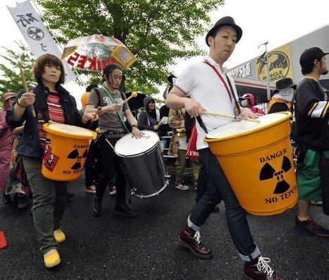 Japon: des milliers des manifestants contre l'énergie nucléaire | LExpress.fr | Japon : séisme, tsunami & conséquences | Scoop.it