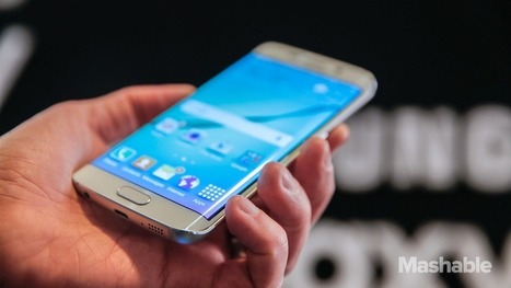 A bigger Samsung Galaxy S6 with 2 curved edges could be on its way | Mobile Technology | Scoop.it