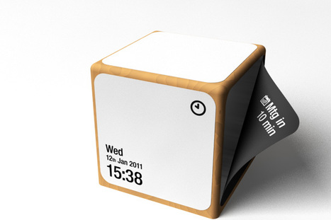 Peel – Moving Notifier Concept by Mac Funamizu   Art, Design & Technology   Scoop.it