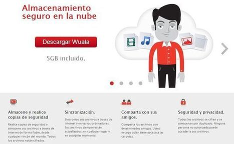 Wuala, 5 Gb para almacenamiento seguro y gratuito en la nube | Didactics and Technology in Education | Scoop.it