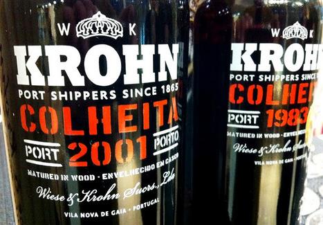 Pingamor: Alguns Krohn no copo   Wine Lovers   Scoop.it