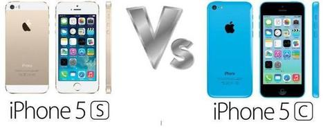 What if the different between iphone 5c and iphone 5s and the new feature the Touch ID | Education and Breaking News | Scoop.it