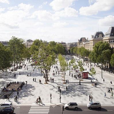 Place de la République becomes Paris' largest pedestrian square   Urban Cycling Area   Scoop.it