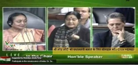 Sushma hails Advani, Sonia on last day of House | India News | Scoop.it