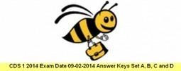 CDS 1 2014 Exam 09 Feb Answer Keys Set A, B, C, D | cdsexam.com | UPSC CDS Exam | Scoop.it