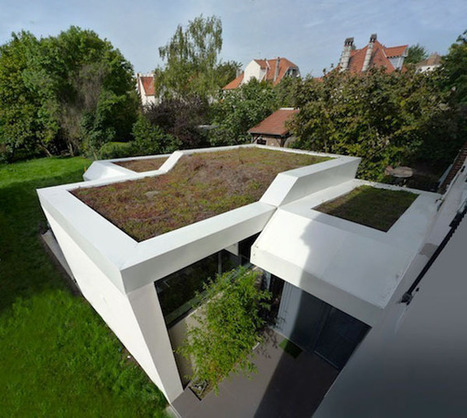 Villa Extension Merges Old and New | sustainable architecture | Scoop.it