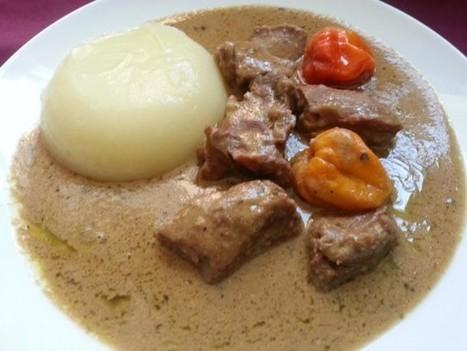 La cuisine togolaise:Fufu et sauce d'arachide | Cuisine Africaine | Scoop.it
