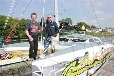 Tréguier. Mise à l'eau d'un catamaran pour balades autour de Bréhat | Trégor-Côte d'Ajoncs | Scoop.it