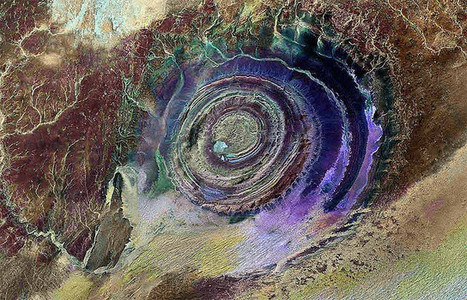 The Richat Structure – Earth's Bull's-Eye | Share Some Love Today | Scoop.it