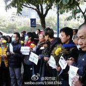 Manifestation en Chine pour soutenir des journalistes censurés | Chine : la presse peut-elle s'émanciper du pouvoir politique ? | Scoop.it