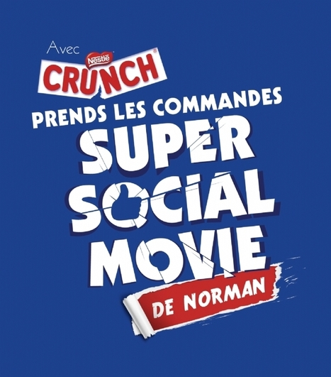 Crunch invite les internautes à coécrire un film avec Norman | C'est la watch. | Scoop.it