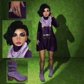 [S]iLeNt [W]oRLd : [121] PurPLe BuTTerFLy .. | sL fashion | Scoop.it