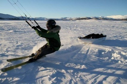 Greenland 2014: la circumnavigation de sa calotte glaciaire en kite ... | kitesurf | Scoop.it