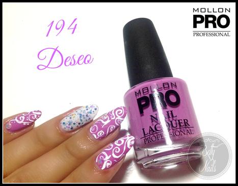 Betty Nails: Mollon Pro 194 - Deseo [acrylic free-hand nailart ] | Betty Nails | Scoop.it